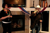 "Singing duet, ""Jackson,"" by Johnny Cash.  It was amazing."